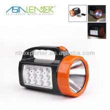 12+1 LED Portable Emergency led Spotlight