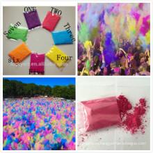 Холи порошок цвет красочный забег и фестиваль