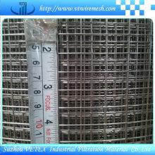 Malha soldada de aço inoxidável com relatório SGS usado na máquina
