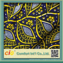 Prix de gros 100% Coton Tissu Ankara