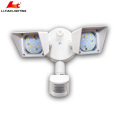 DLC ETL & UL LED Security light Adjustable Heads 1500LM 5000K (Day Light) 120V led outdoor security lights can do ODM OEM