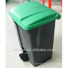 moule à injection en plastique de poubelle