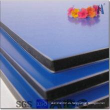 Panel compuesto de alúmina de recubrimiento PVDF de 4 mm