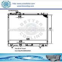 Kühler für Toyota Tercel 95-97 Hersteller und Direktverkauf!