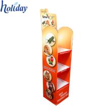 Hochwertige Werbung Karton Boden Pop Up Display Stand