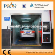 Car Elevator with Steel Painted