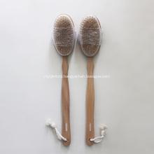 Natural Boar Bristle Wooden Bath Body Back Brush