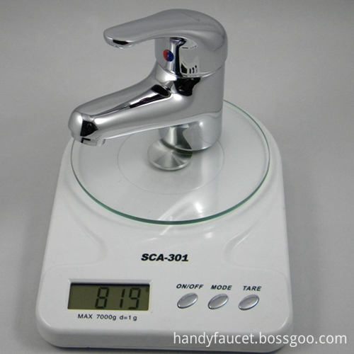brass basin mixer faucets weight