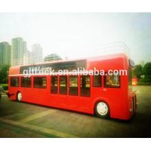 Camión de la comida de China / camión móvil de los alimentos de preparación rápida / camión móvil de la comida / van de la comida de la movalve
