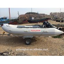 Bateau gonflable RIB470 avec la Chine de ce bateau de nervure
