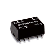 1W Meanwell DETN01 series SMD Package DC-DC Unregulated Converter