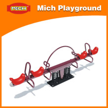 Kids Red Outdoor Seesaw for Amusement Park
