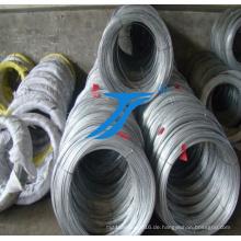 Binding verzinktem Draht 0,2 mm bis 4,0 mm in weicher Qualität