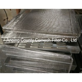 304 Stainless Steel Wire Mesh Sieving Tray
