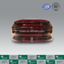 LUXES klassische Holzurnen mit rot gefärbt