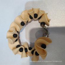 Профессия Производство Мода Металл Силиконовый браслет из бисера
