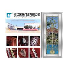 Porte chaude de sécurité d'acier inoxydable de vente pour le bâtiment résidentiel