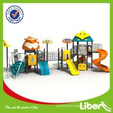 Roboter-Stil Kinder Kunststoff Outdoor Play Center mit CE-zertifiziert