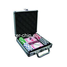 100PCS Poker Chip Set en boîtier en aluminium (SY-S07)