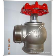Válvula de hidrante de fuego de acero inoxidable Dn65