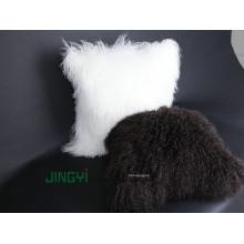 Wholesale Tibet Lamb bouclés fourrure de laine en peluche taie d'oreiller