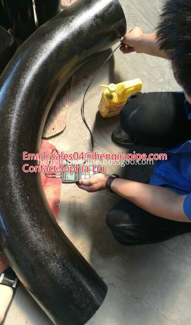 90deg butt weld bend