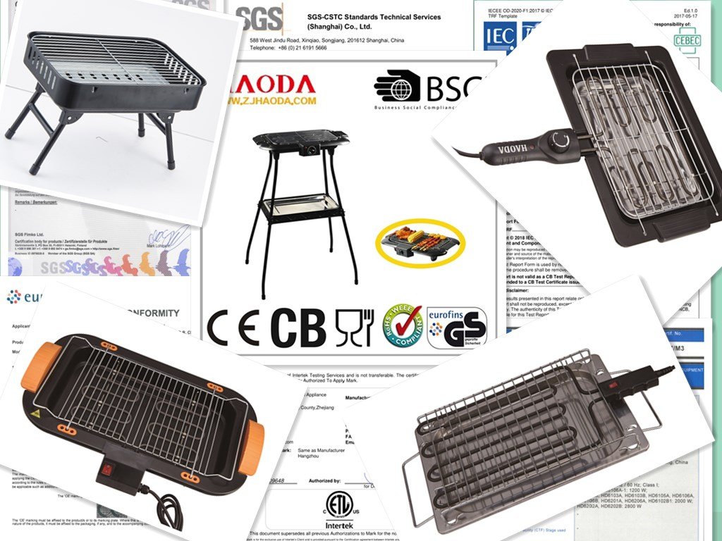 2000watts Portable BBQ