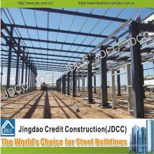 Bâtiment d'usine de structure en acier léger de galvanisation d'envergure de grande qualité