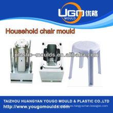 China inyección molde de silla de fábrica con diseño hermoso molde de plástico de buena calidad de la silla