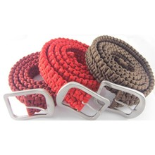 Best polyester paracord belt  metal clasp