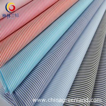 65% Coton 32% Naylon 3% Tissu Spandex Stripe pour Chemises