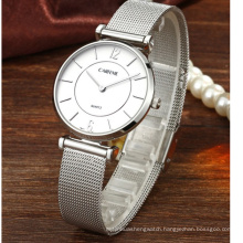 Luxury Custom Mesh Japan Movement Stainless Steel Watch