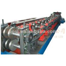 Halbautomatische C / Z Purlin Exchange Rollenformmaschine
