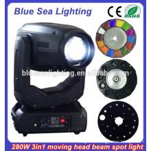 280w Robe Orsam feixe sopt lavar 10R 3-em-1 iluminação da cabeça em movimento