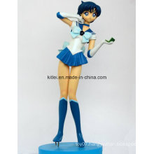 High Quality Polyresin Sexy Sport Girls Action Figure Kids Toys