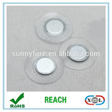 clothing button magnets in pvc