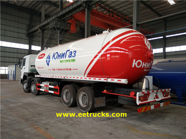 SINOTRUK 35.5 CBM LPG Transport Trucks