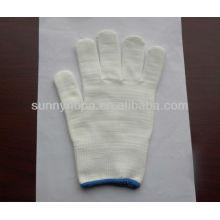 Полиэфирные трикотажные рабочие перчатки