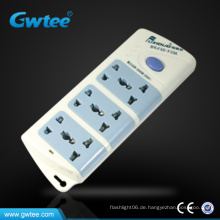 Hochleistungs-Überspannungsschutz Mehrfachsteckdose Verlängerungskabel