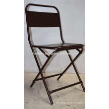 Chaise bon marché en métal léger pliable
