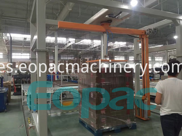 Rotary Arm Stretch Wrapping Equipment