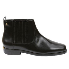 Casual Comfort Women′s Leather Ankle Boots