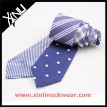 Собака зуб и белые точки двойные сторон дешево красивые мужские шелковые галстуки