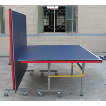 Double-Folding Table Tennis Table (TE-02C)