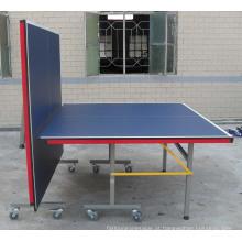 Mesa de tênis de mesa dupla-dobrável (TE-02C)