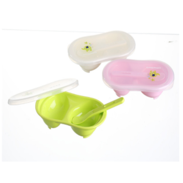 Infant PP servies Baby Mash Bowl met lepel