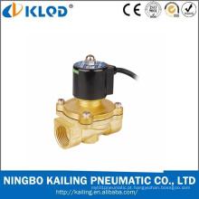 Válvula de solenóide impermeável fechada normal 24V da água