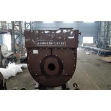 Caldera de vapor de condensación de aceite horizontal para la industria