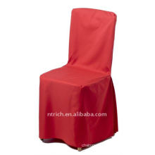 polyester chair cover,CT395 red color ,banquet chair cover,200GSM best quality