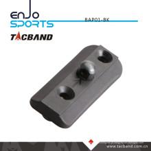 Tacband Tactical Bipod Adaptador para Keymod - com Bipod Stud Black